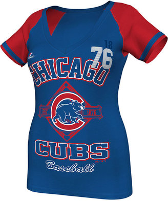 Majestic Women's MLB T-Shirt, Chicago Cubs This is My City Fashion T-Shirt