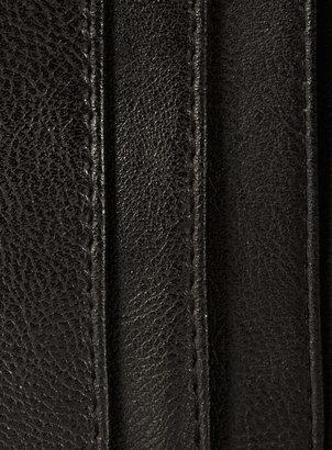 Topman Washed Canvas Elastic Trim Wallet