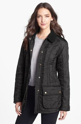 Women's Barbour 'Beadnell' Quilted Jacket $275 thestylecure.com