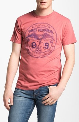 Obey 'Original Eagle' Graphic T-Shirt