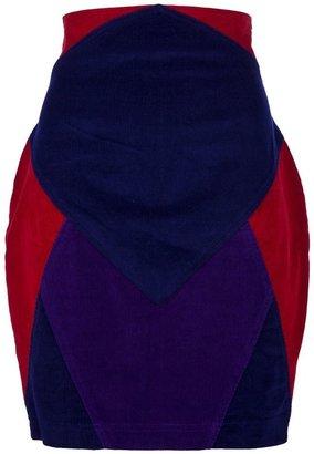 Versus Vintage Panelled skirt