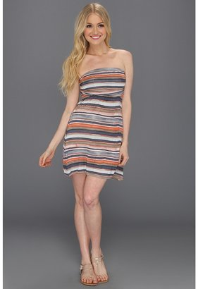 Quiksilver Painted Stripe Dress (Painted Stripe) - Apparel