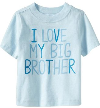"""Old Navy """"I Love My Big Brother"""" Tees for Baby"""