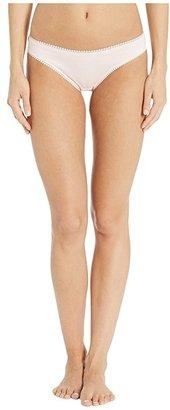 OnGossamer Cabana Cotton Hip Bikini 1402 (Blush) Women's Underwear