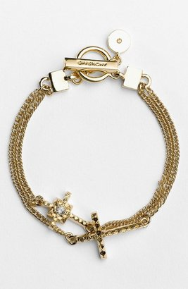 Givenchy Link Bracelet Russian Gold/ Clear