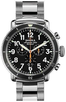 Shinola 'The Runwell Chrono' Bracelet Watch, 48Mm $1,025 thestylecure.com