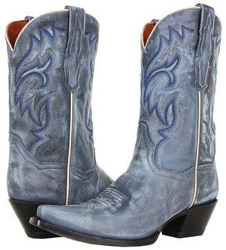 Dan Post Prairie Chic (Blue) - Footwear