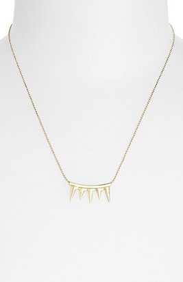 Topshop 'Spike Teeth Ditsy' Necklace