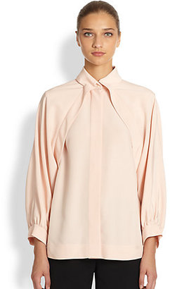 Fendi Jacket Effect Blouson Blouse