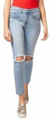 Dex Distressed Boyfriend-Fit Jeans