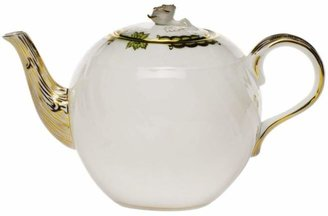 Herend Princess Victoria Green Teapot