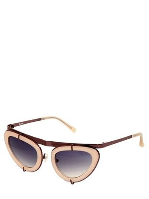 Erdem Acetate Cat-Eye Sunglasses