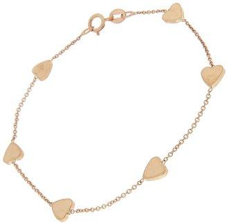 Jennifer Meyer Heart By The Inch Chain Bracelet - Rose Gold