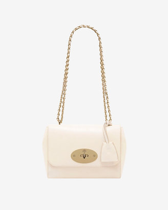 Mulberry Lily Chain Strap Shoulder Bag: Off White