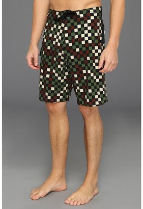 Vans Era Stretch 21 Boardshort (Camo Check) - Apparel