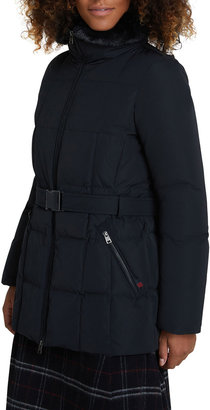 Woolrich Blizzard Jacket with Faux Fur Collar