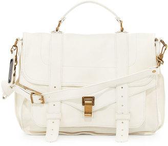 Proenza Schouler PS1 Large Satchel Bag, White