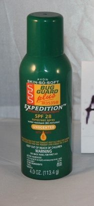Avon SKIN SO SOFT Bug Guard Plus IR3535 EXPEDITION SPF 28  Aerosol Spray $6.54 thestylecure.com