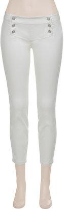 Max Studio Skinny Sailor Trousers