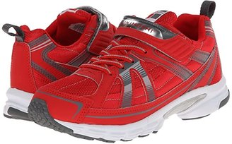 Tsukihoshi Youth Storm (Little Kid/Big Kid) (Red/Gray) Boys Shoes