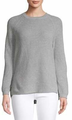 Calvin Klein Metallic Chunky Crew Neck Sweater
