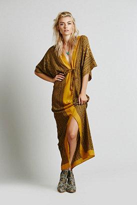 Lotta Stensson + Free People Womens Inca Wool Robe