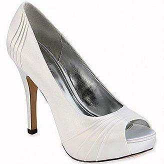 PeepToe Jacqueline Ferrar® Dante Satin Peep-Toe Pumps
