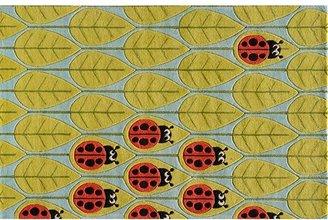 Momeni lil mo whimsy lady bug rug