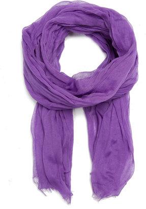 MANGO Basic cotton scarf