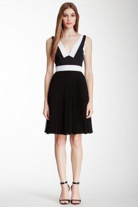 Catherine Malandrino Black Label Angelique Pleated Dress
