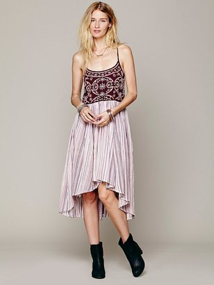 Free People Zerrin Embroidered Nighty