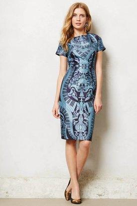 Anthropologie Rhapsodie Pencil Dress