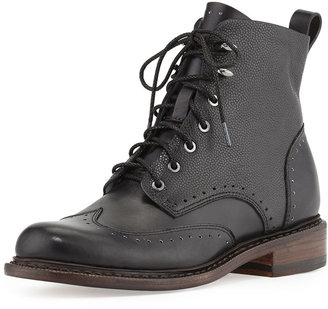 Rag and Bone Rag & Bone Cozen Wingtip Lace-Up Boot