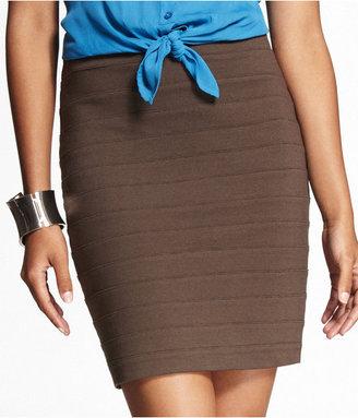 Express High-Waist Bandage Skirt