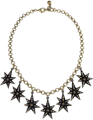Lulu Frost Celestial Spark crystal star necklace