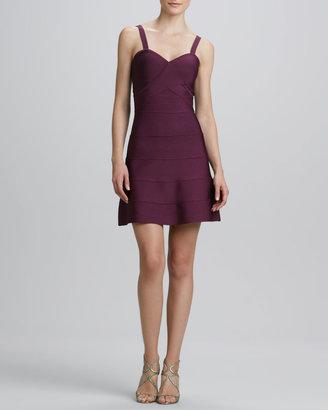 Erin Fetherston ERIN A-line Knit Cocktail Dress