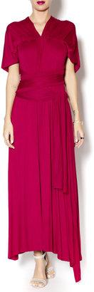Va Va Voom Maxi Wrap Dress $79 thestylecure.com