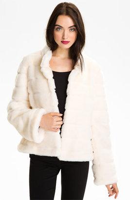Women's Kristen Blake Faux Fur Jacket $148 thestylecure.com