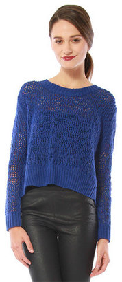 Cynthia Vincent Zip Back Sweater