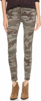 True Religion Casey Camo Skinny Jeans $178 thestylecure.com