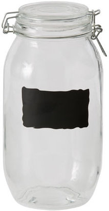 Australian House & Garden Glass Jar with Chalk Board XL