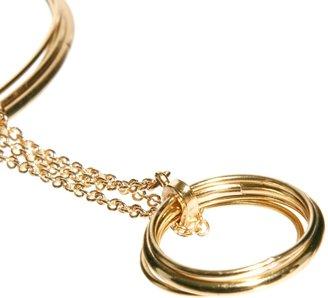 Asos Fine Bangles & Ring Hand Harness