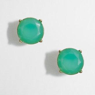 J.Crew Factory Factory neon stone stud earrings