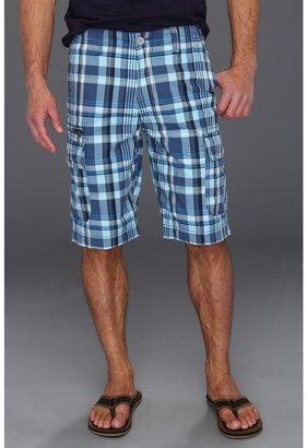 Calvin Klein Jeans Infinite Plaid Short (Twilight Shade) - Apparel