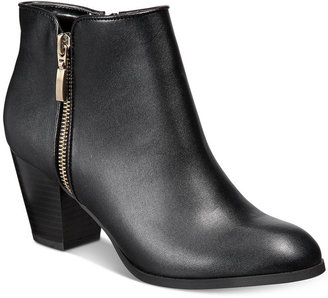 Style & Co Jamila Zip Booties, Created for Macy's Women's Shoes $79.50 thestylecure.com