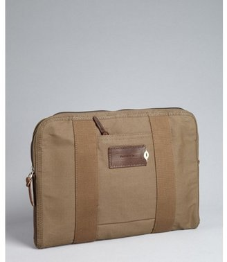 Property Of earth canvas 'Charlie' zip laptop cover