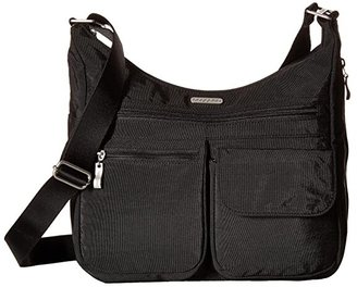 Baggallini Legacy Everywhere Bagg (Charcoal) Cross Body Handbags