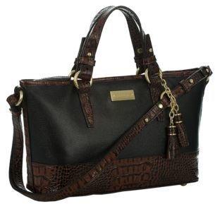 Brahmin Asher Leather Mini Tote Bag