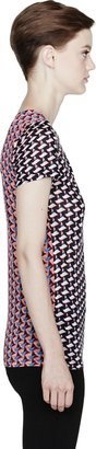Marc by Marc Jacobs Puzzle Print Jersey T-Shirt