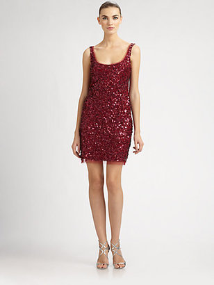 Aidan Mattox Sequined Dress